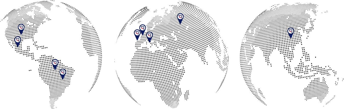 Filiales Map